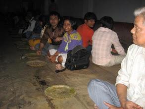 Photo: Chakla Dham - afternoon prasad distribution