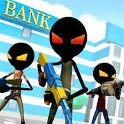 Game Bank Robbery Royale - Battle Simulator APK for Windows Phone