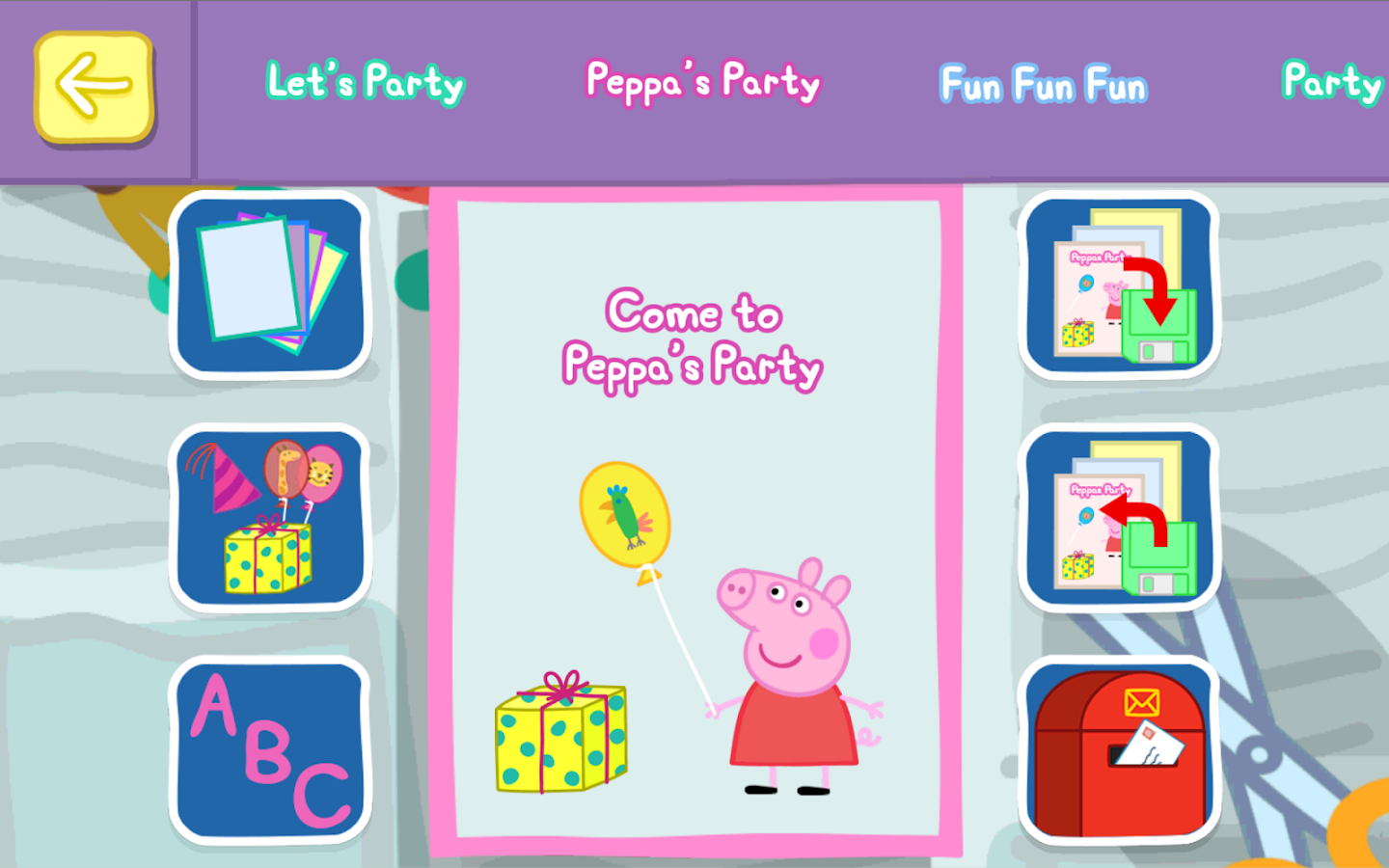 peppa pig party time android apps on google play