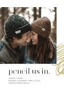 Pencil Us In - Photo Card item