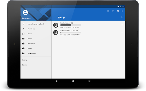 MK Explorer (File manager) Screenshot