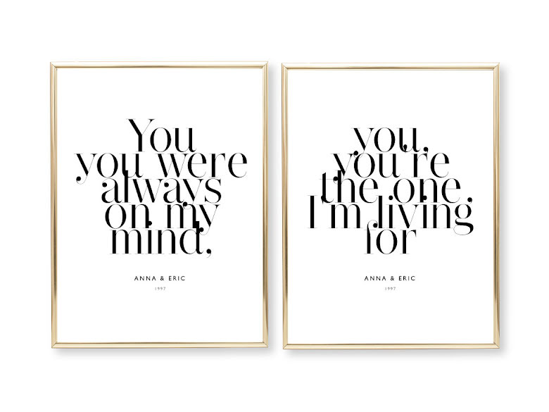 PARPOSTERS - YOU, YOU ARE ALWAYS 2 st posters