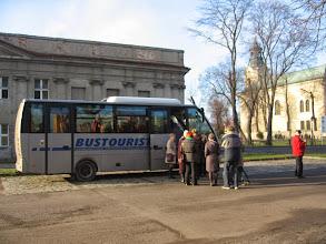 Photo: Najpierw zatrzymaliśmy się przy zamku Leszczyńskich w Rydzynie.