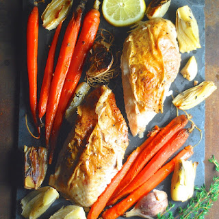 Sunday Chicken with Carrots and Fennel
