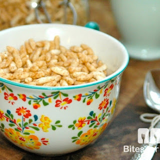 Puffed Rice Cereal Recipes.