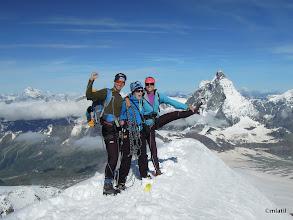 Photo: with An and Matterhorn