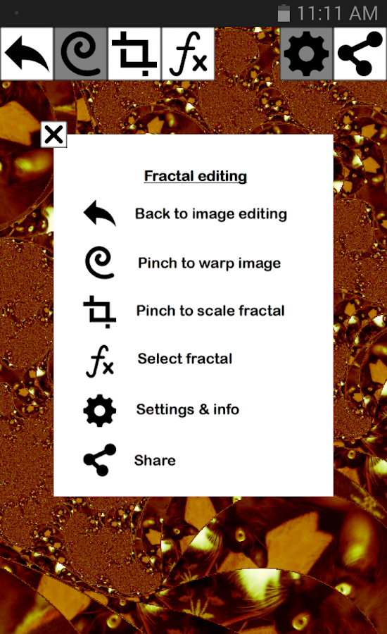 PhotoFrac- screenshot