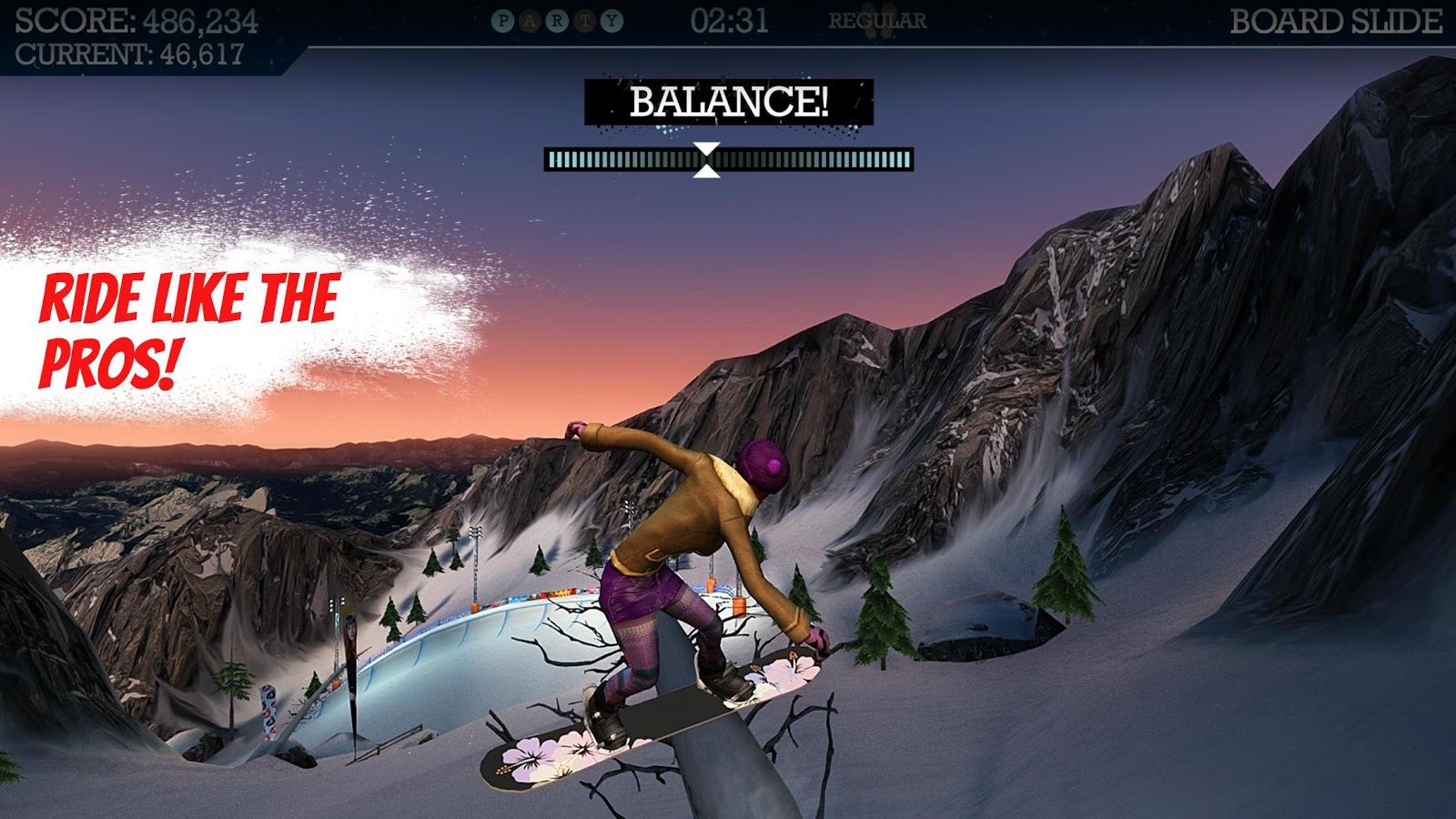 Snowboard Party Pro- screenshot