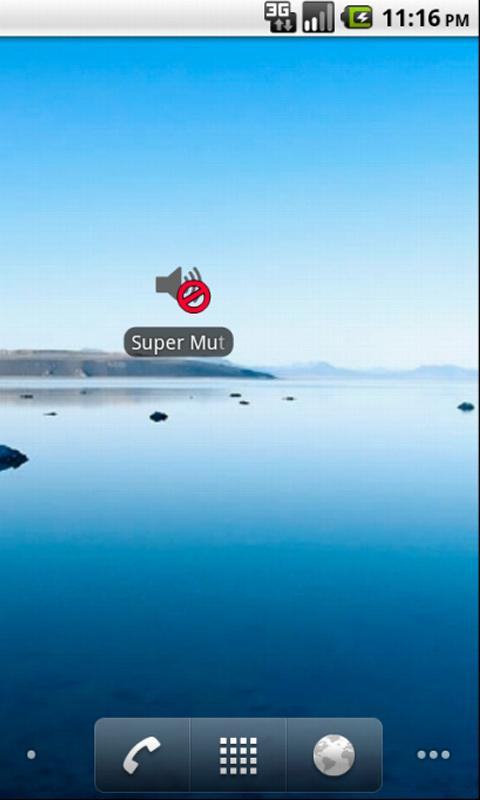 Скриншот Super Mute