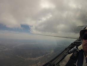 Photo: 13k near Pinos looking back towards Ventura.  Smokey!