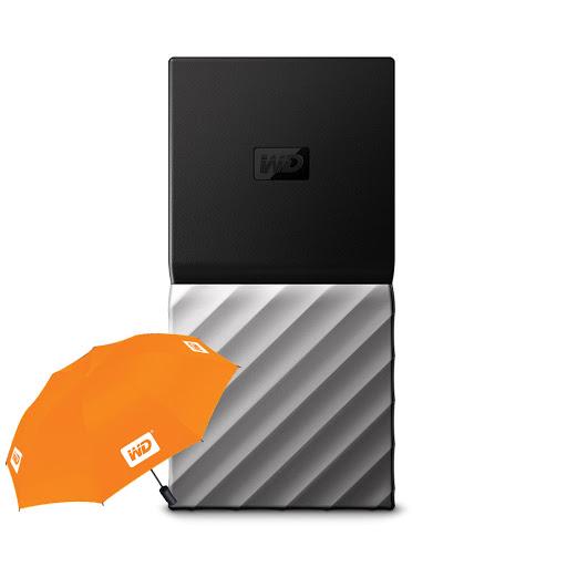 Ổ cứng gắn ngoài SSD WD My Passport 512GB (WDBKVX5120PSL-WESN)
