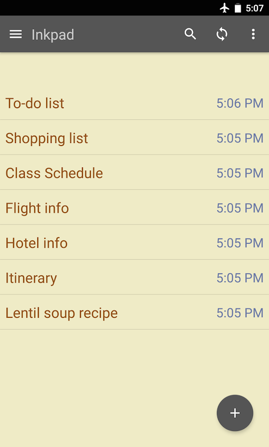 Notepad & To Do List- screenshot