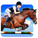 Horse Jumping Show 3D icon