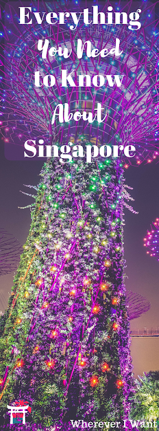 All about Singapore - sights, money, transportation, language, etc.