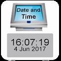 Video Kiosk Date & Time Widget icon