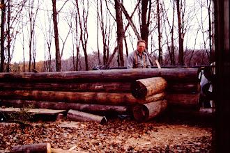Photo: Log work.
