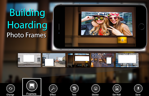 Building Hoarding Photo Frames - náhled