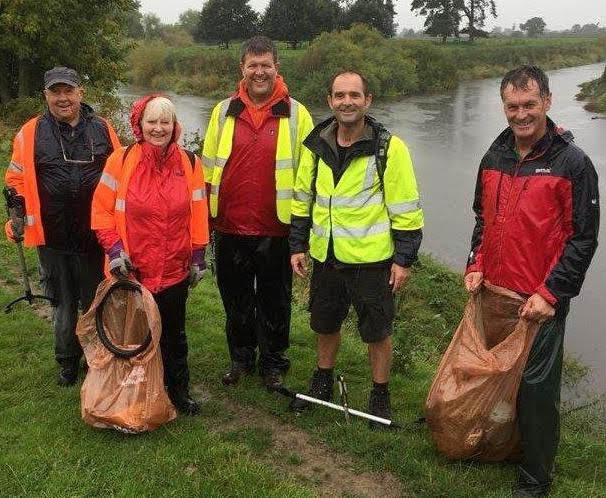 Work helps clear litter and debris from Severn Way walk