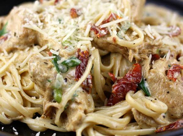 Rajun Cajun Chicken W/pasta Recipe