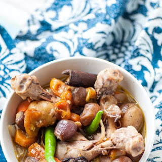 Easy Home-made One-pot Chicken Stew