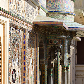 The palace by Sajal Porwal - Buildings & Architecture Other Exteriors ( palace, paintings, colourful, history, balcony )