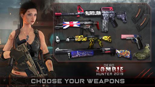 Zombie Hunter mort 2019: Jeux gratuits Zombie Surv  captures d'écran 1