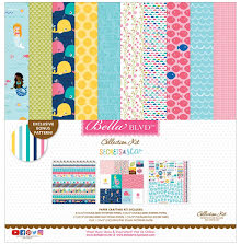 Bella Blvd Collection Kit 12X12 - Secrets Of The Sea Girl