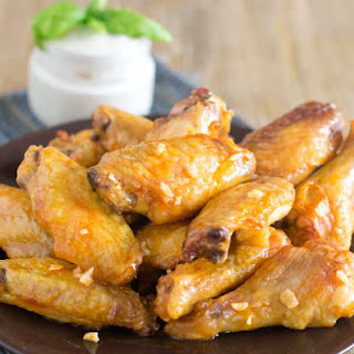 Crispy Oven-Baked Chicken Wings.