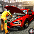 Car Mechanic Workshop Gas Station Service