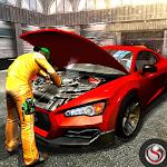 Car Mechanic Workshop Gas Station Service Icon