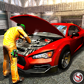 Car Mechanic Workshop Garage