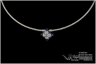 Photo: Little Star for New Year's Dress - Маленька зірочка для новорічної «Сніжинки»