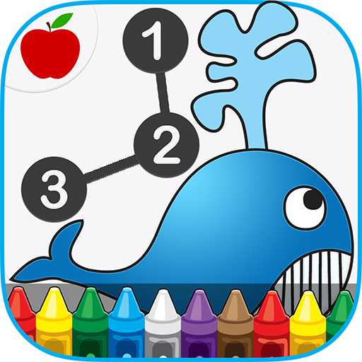 Dot to Dot Game For Kids Paint 教育 App LOGO-硬是要APP