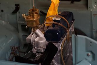 Photo: K22-i carburetor after restoration and zinc-plating