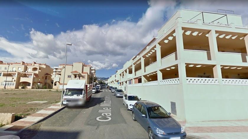 El suceso tuvo lugar en la calle Mozárabes de El Parador, en Roquetas de Mar.