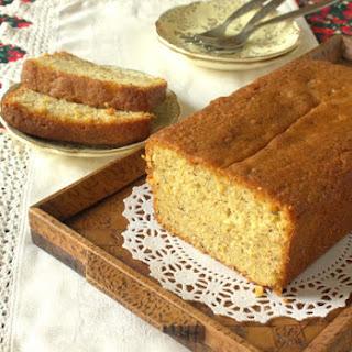 Orange Hazelnut Loaf Cake