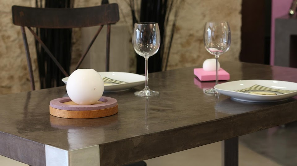 table salle a manger beton cire beton cir saint malo la maison des ... - Table Salle A Manger Beton Cire