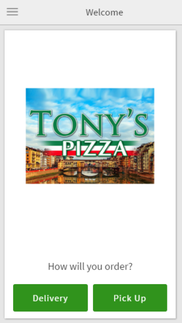 Tony's Pizzeria- screenshot