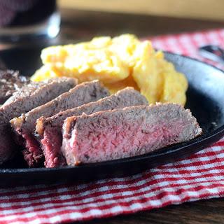 Rib-Eye Steak.