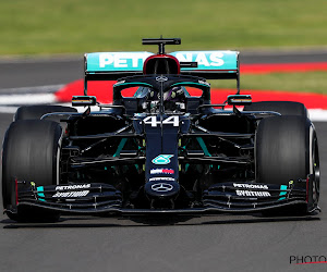Hamilton zet orde op zaken en pakt de pole ondanks spin, Verstappen na dominant Duits merk 'best of the rest'