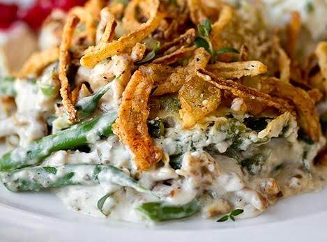 Easy Green Bean Cassarole Recipe