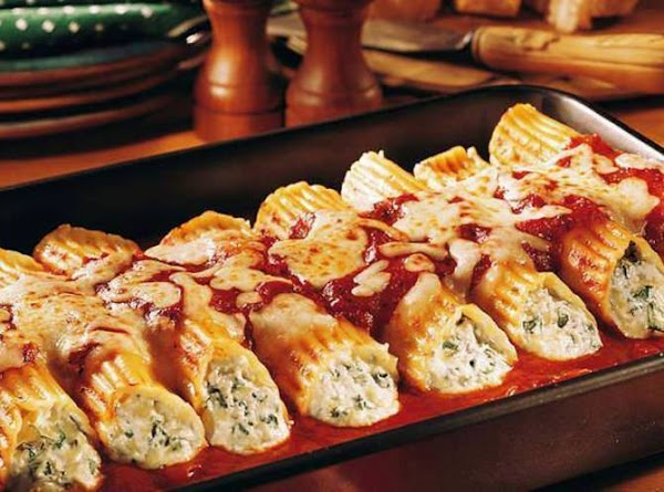 Old-world Manicotti Recipe