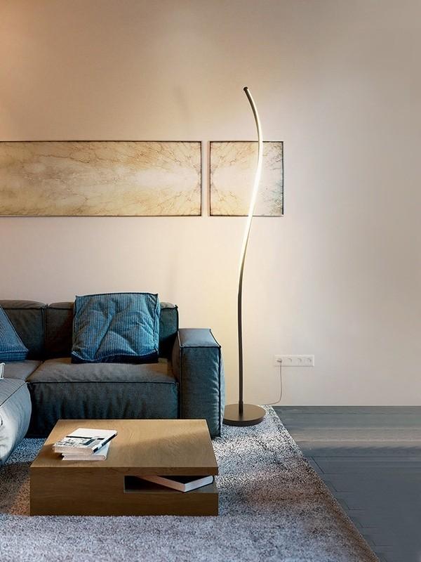 Những căn phòng theo phong cách hiện đại nên chọn mẫu đèn hiện đại