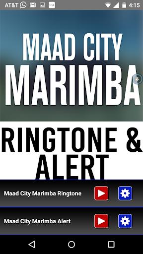 Maad City Marimba Ringtone