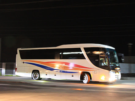 京浜急行バス「エディ号」吉野川系統 3207 徳島バス鴨島営業所入線