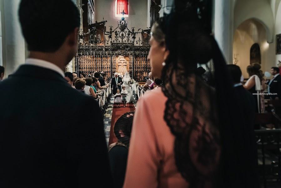 Wedding photographer Antonio Calle (callefotografia). Photo of 03.10.2017