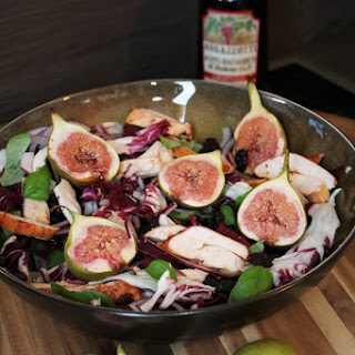 Smoked Chicken Salad with Figs (2 pers.)