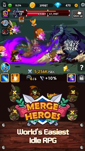 Merge Heroes Frontier: Casual RPG Online screenshots apkshin 17