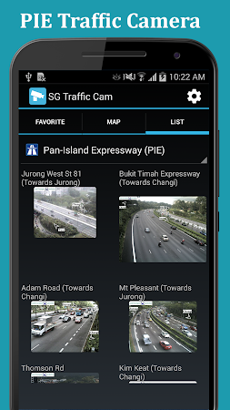 SG Traffic: Real Time Cameras 1.0.8 screenshot 1092854