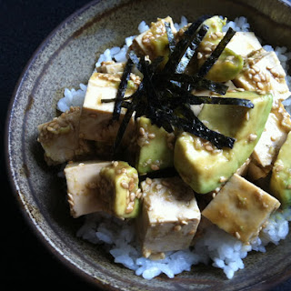 Avocado & Tofu Wasabi-ae.